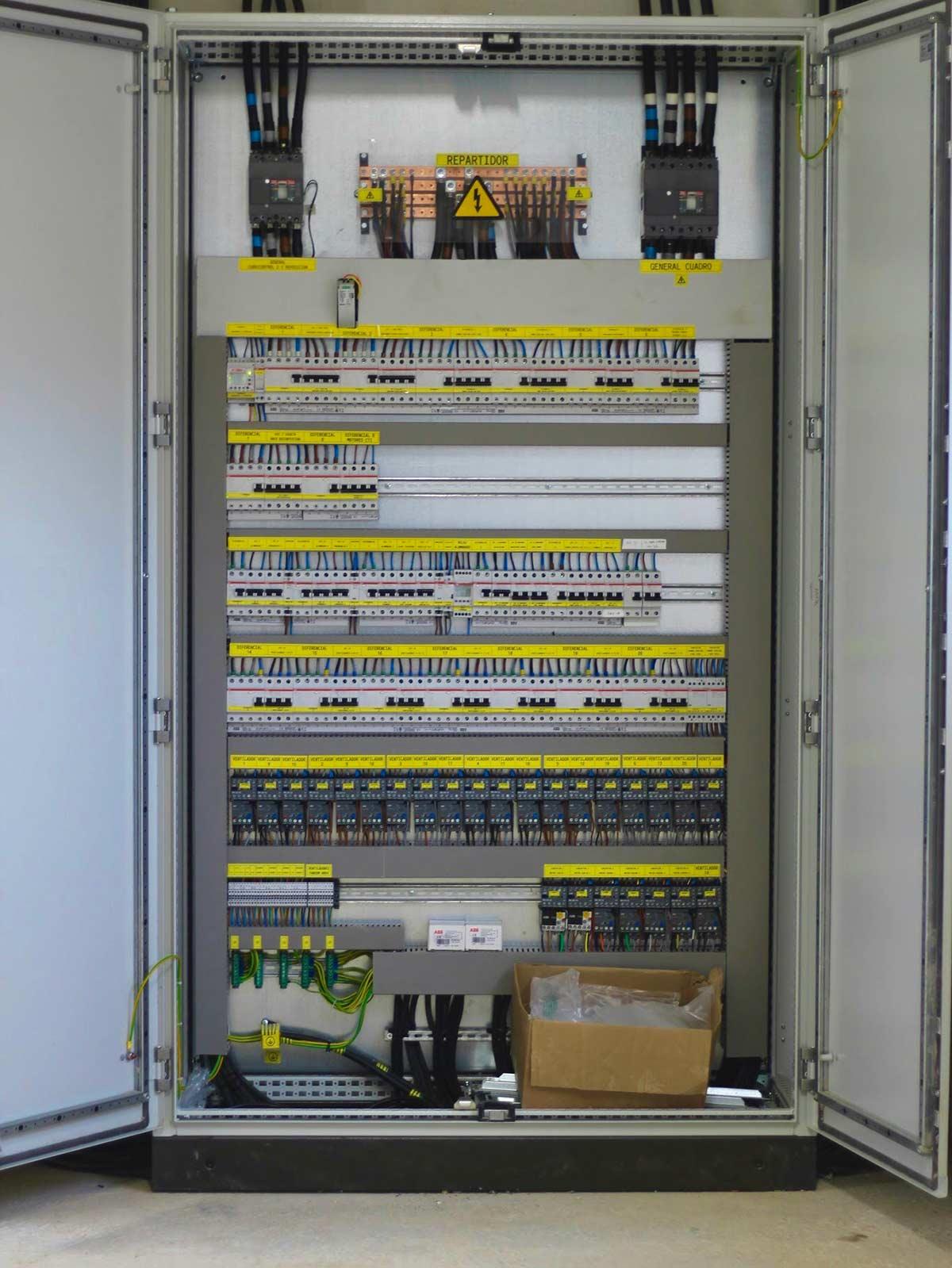 instalación electrica de baja tension 6